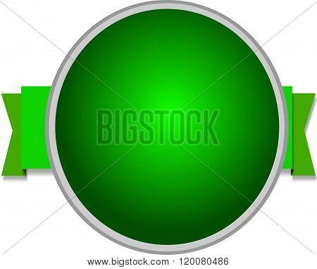 green Awards rosette