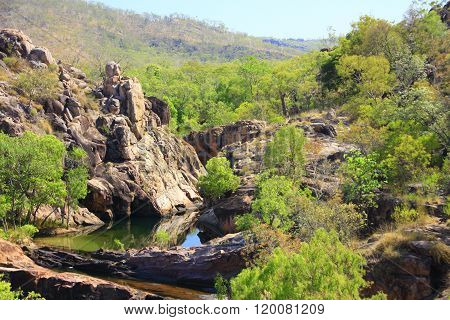 gunlom in kakadu national park, nt australia