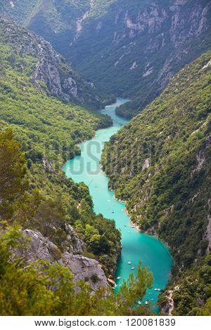 St Croix Lake Les Gorges Du Verdon Provence France