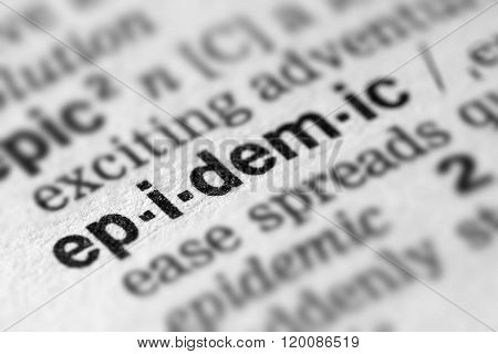 Epidemic Definition Word Text