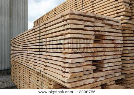 Oven gedroogd Pine planken