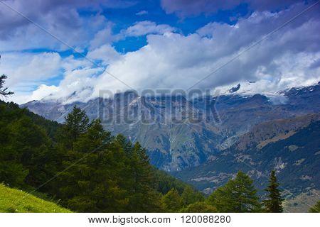 Alpine landscape, France