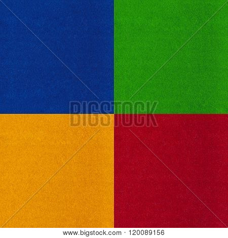 Abstract Background Set Four Colors