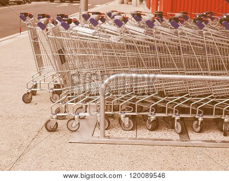 Shopping Carts Vintage
