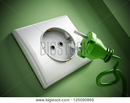 Electric Plug And Socket