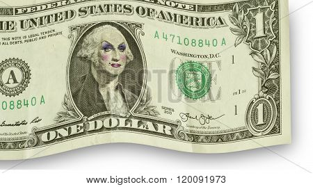 Drag Queen George Washington