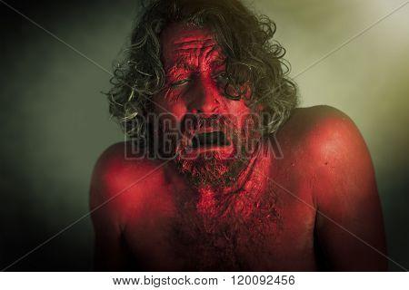 Demon Monster Beard