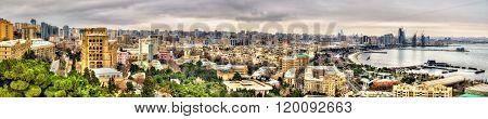Panorama of Baku city