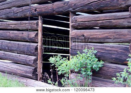 Old Log Building
