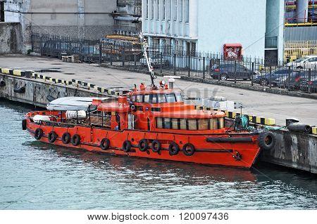 Industrial Pilot Ship