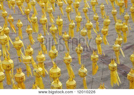 Paper lanterns, Chiang Mai, Thailand