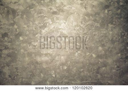 Rusty Galvanized Iron Plate, Texture, Background,