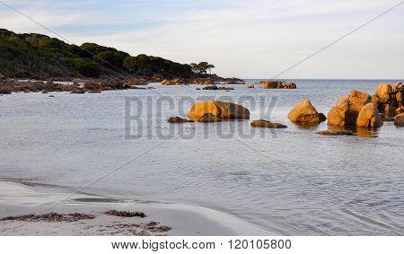Bunker Bay Beach: Granite Rocks