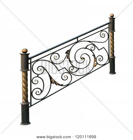 Decorative Wrought Iron Railings.
