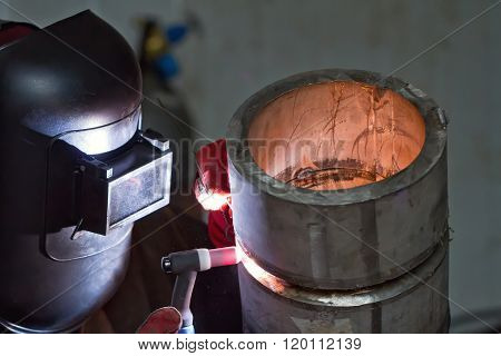 Argon Arc Welding Of Thick-walled Stainless Steel Pipe