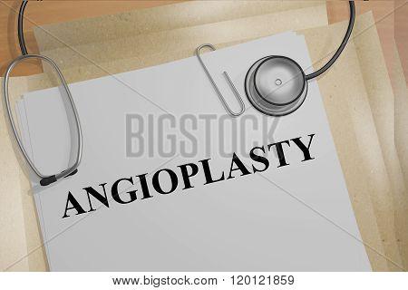Angioplasty Concept