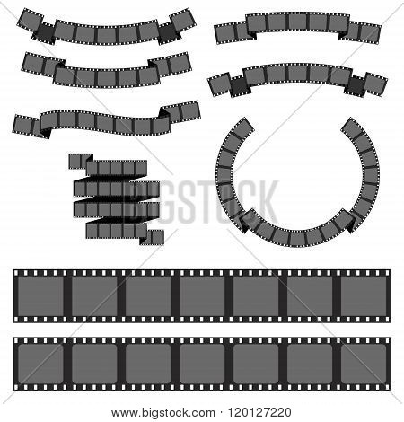 Negative Filmstrip, Media Filmstrip