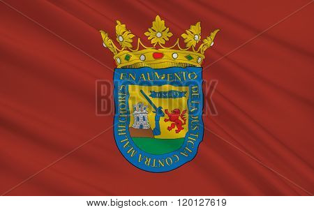 Flag Of Alava Or Araba Is A Province Of Spain