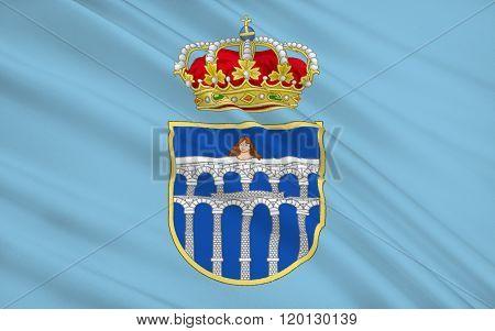 Segovia Is A City In The Autonomous Region Of Castile And Leon, Spain
