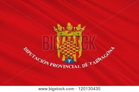 Flag Of Tarragona Is A Province Of Eastern Spain