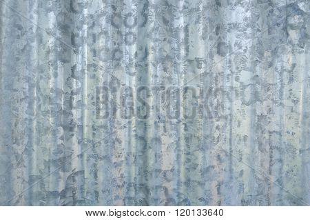 zinc wall texture