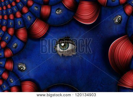 Peeping Eyes