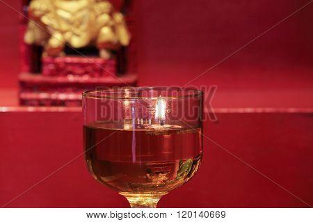 Oil Lamp For Worship