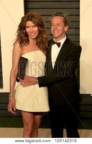 LOS ANGELES - FEB 28:  Veronica Smiley, Brian Grazer at the 2016 Vanity Fair Oscar Party at the Wallis Annenberg Center for the Performing Arts on February 28, 2016 in Beverly Hills, CA