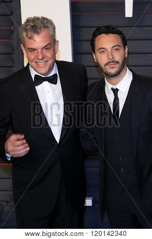 LOS ANGELES - FEB 28:  Danny Huston, Jack Huston at the 2016 Vanity Fair Oscar Party at the Wallis Annenberg Center for the Performing Arts on February 28, 2016 in Beverly Hills, CA