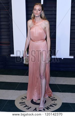 LOS ANGELES - FEB 28:  Daria Strokous at the 2016 Vanity Fair Oscar Party at the Wallis Annenberg Center for the Performing Arts on February 28, 2016 in Beverly Hills, CA