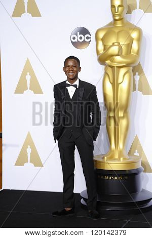 LOS ANGELES - FEB 28:  Abraham Attah at the 88th Annual Academy Awards - Press Room at the Dolby Theater on February 28, 2016 in Los Angeles, CA