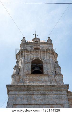 Cathedral of San Carlos De Borromeo architectural detail