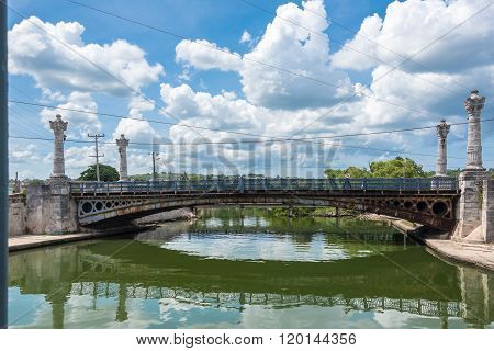 Concordia Bridge in Matanzas,Cuba