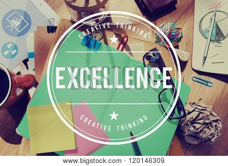 Excellence Brilliant Expert Genius Good Knowledge Concept