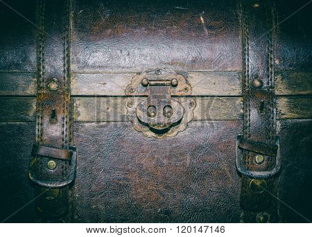 Old Leather Suitcase, Fragment