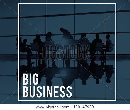 Big Business Company Corporate Enterprise Organisation Concept