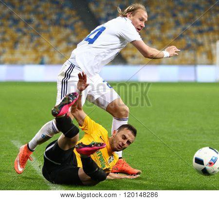 Ukrainian Cup Quarterfinal Game Fc Oleksandria Vs Fc Dynamo Kyiv In Kyiv, Ukraine