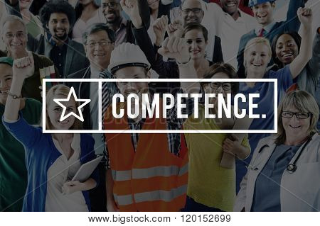 Competence Ability Skill Talent Expertise Concept