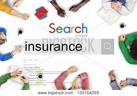 Insurance Protection Policy Risk Benefits Concept