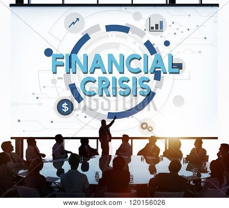 Financial Crisis Depression Downturn Economy Concept