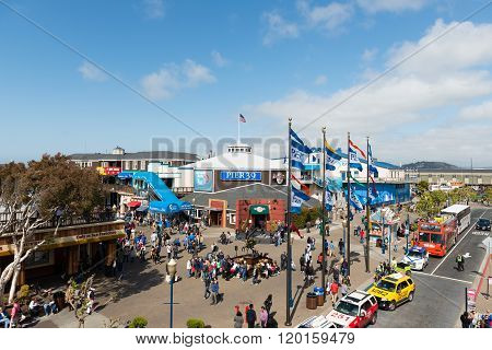 View Of Pier 39 At San Francisco, Us