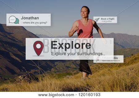 Explore Exploring Experience Travel Adventure Concept