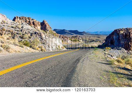 U.S.A., Arizona, the Route 66 towards the California border.
