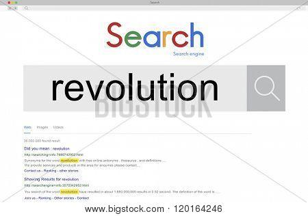 Revolution Innovation Freedom Change Transform Concept