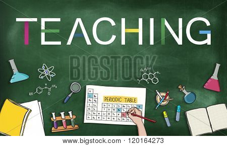 Teaching Teach Teacher Training Development Concept