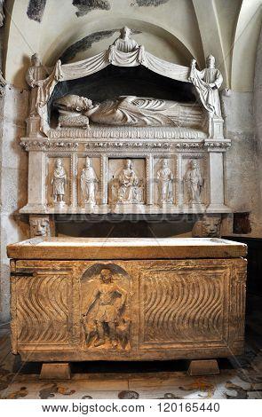 Sarcophagus Of Saint Domnius In Split, Croatia