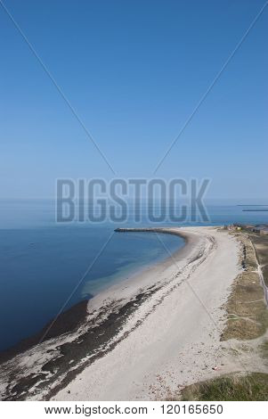 The North Beach Of Helgoland