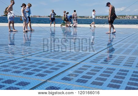 Greeting To The Sun. Zadar, Croatia