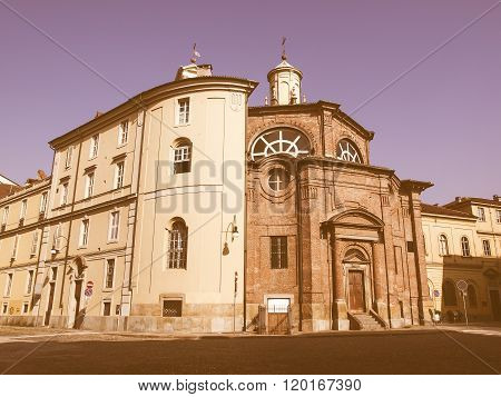 San Michele Church, Turin Vintage