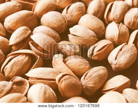 Retro Looking Pistachios Picture